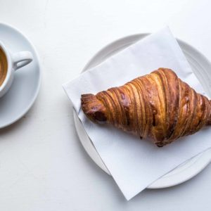 How the sourdough croissants are made at Mirabelle Bakery